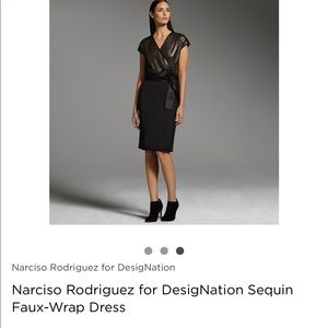 Narciso Rodriguez for Design Nation dress